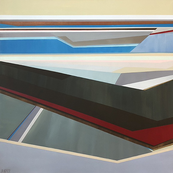 Artist Shilo Ratner, Shifting Waters