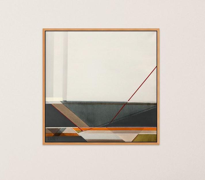 """Artist Shilo Ratner_Quiet Waters_20 x 20"""""""