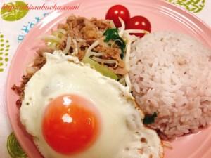 牛肉と野菜のナンプラーミックス炒め2