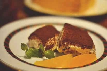Cake set at Little Prince Cafe