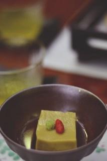 Some cheese tofu thingy