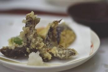 Fried fish tempura