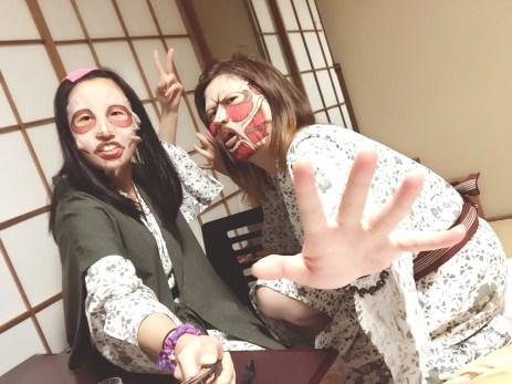 Dreams come true with kyojin chara masks