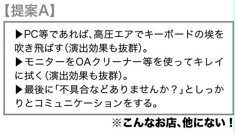 【提案A】