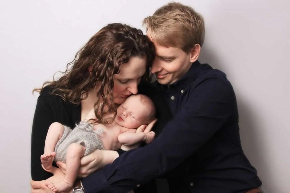Newborn & family photo shoot, Tooting