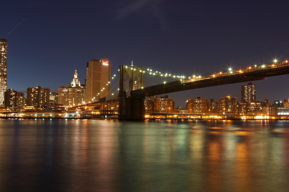 Manhattan, Brooklyn Bridge, New York