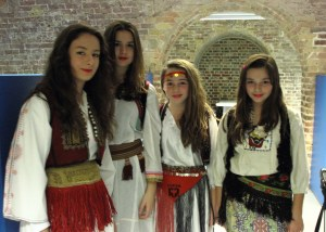 Albanian traditional costumes, London, UK