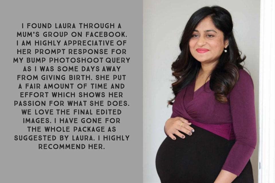 Maternity photo shoot, Tooting
