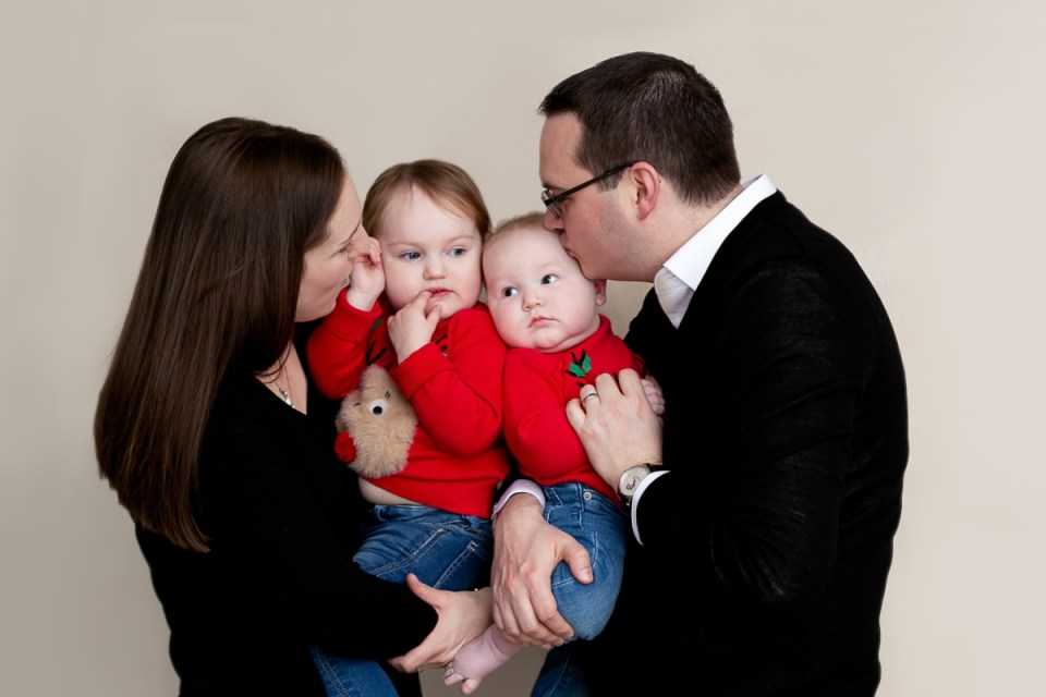 Family photo shoot in Tooting Bec, 19 January