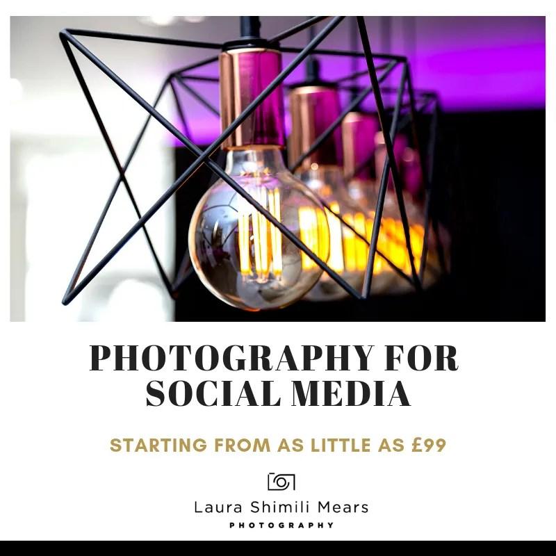 Photography for social media, London photographer