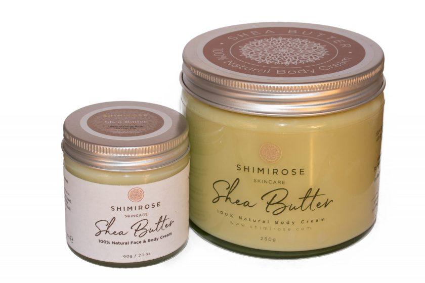 Pure Natural Moisturising Shea Butter 60g - SHIMIROSE