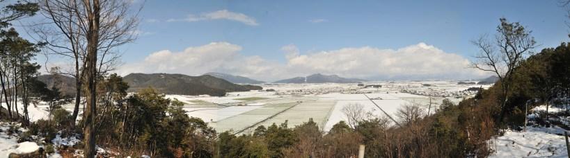 雪の腰越山