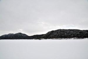 雪野山中央部