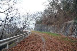 瓶割山(長光寺山)電波塔ルート-貯水施設に向かう道