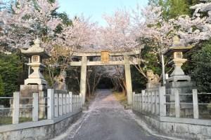 瓶割山(長光寺山)不二滝ルート-日吉神社