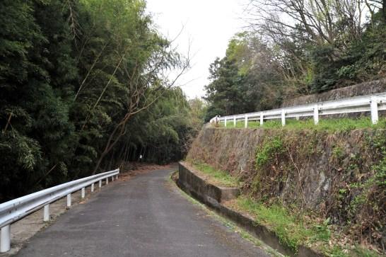 瓶割山(長光寺山)岩倉山峠道ルート - 峠道(取付道路)