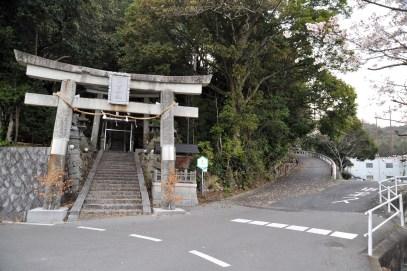 瓶割山(長光寺山)電波塔ルート-日吉神社