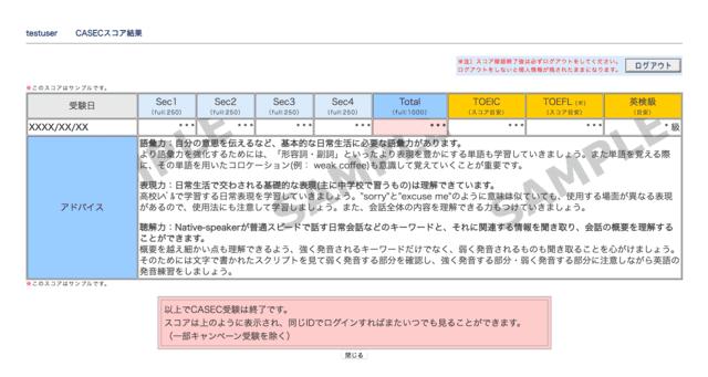 CASEC_対策_問題