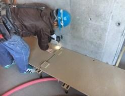 長野市マンション床の構造乾式二重床