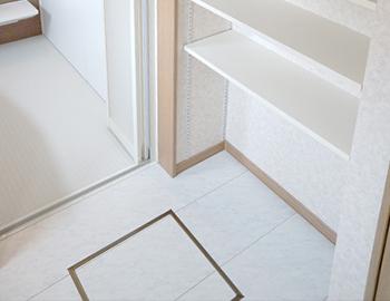 長野市洗面所の床の張替え工事費用