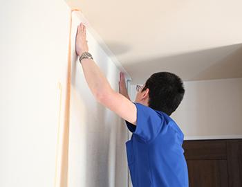 長野市洗面所の壁紙張替えリフォームについて