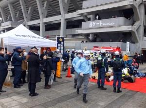 【訓練】港北警察署や横浜消防が現地指揮本部を設置