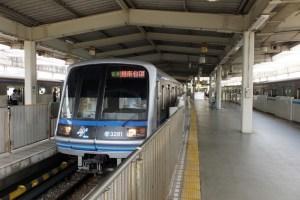 新羽駅のホーム