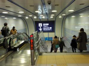 東横線は2004年の地下化で深い場所になってしまった
