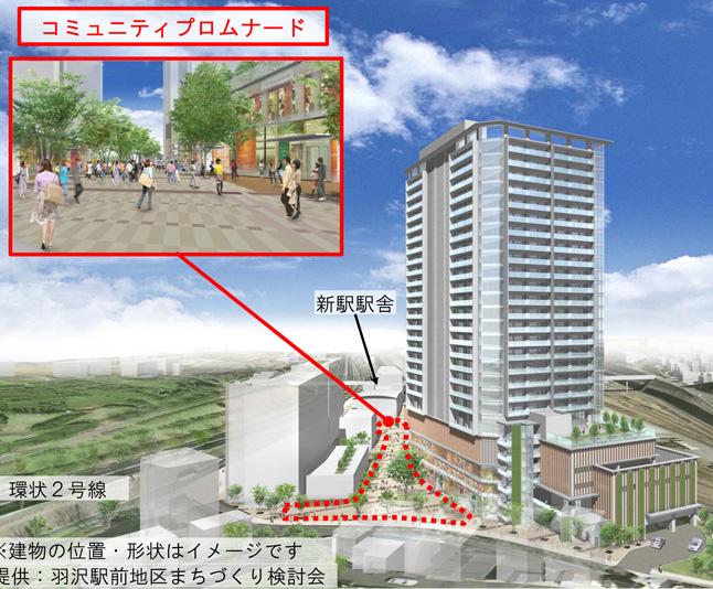 """""""新横浜都心部""""エリアの「羽沢」、相鉄直通線で新たな拠点駅と街が生まれる"""