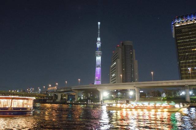 東京スカイツリーの夜景