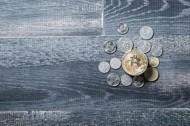 数種類のコイン