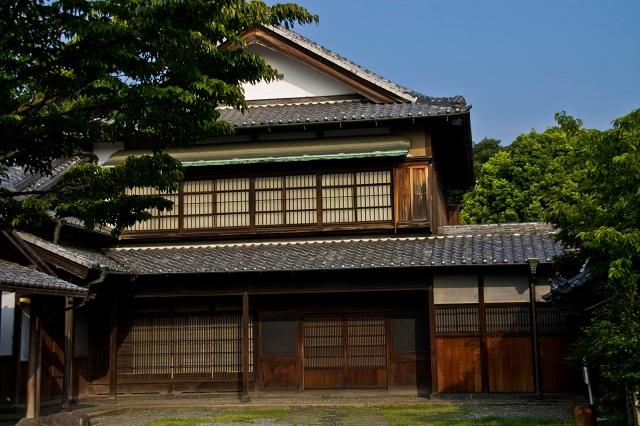古民家の玄関