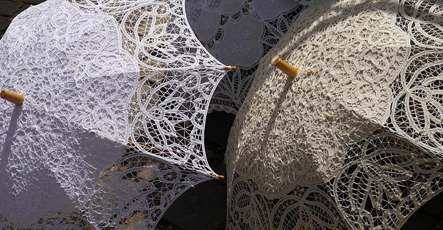色違いの日傘