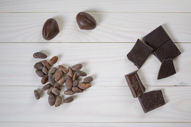 いろいろな種類のチョコレート