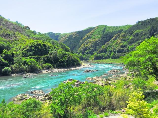 高知県の四万十川
