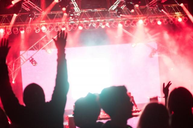 ライブの風景