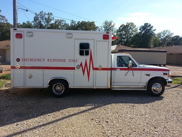 外国の救急車
