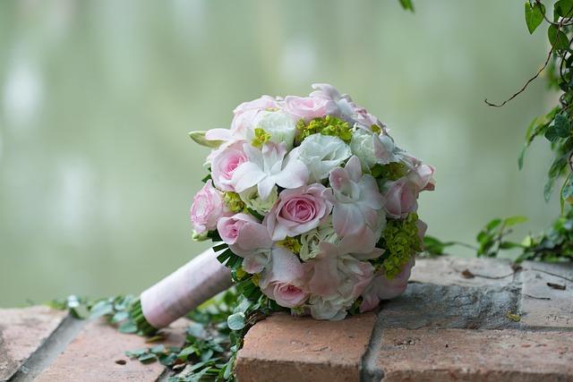 ブーケの花束