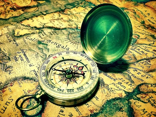 地図と羅針盤