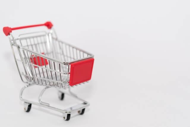 ショッピングカートのミニチュア