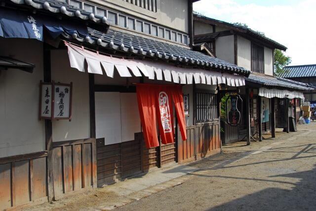 昔の日本の街