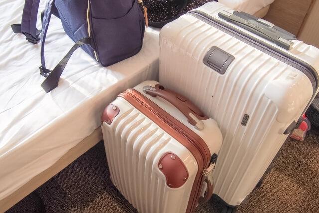 家族旅行で持っていくキャリーバッグ