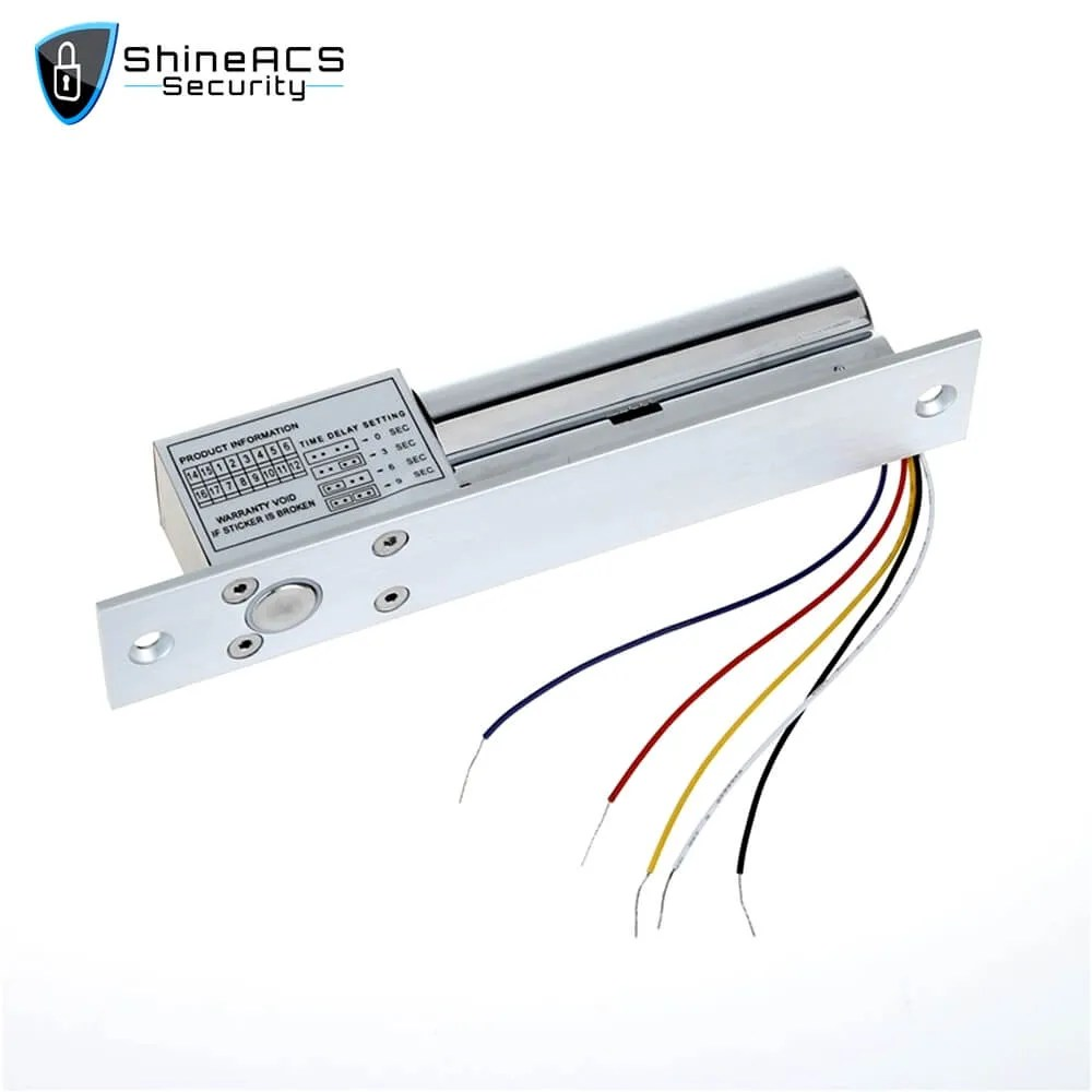Electric Bolt lock With Door Detective Signal SL E200SL 2 - ShineACS Access Control Products