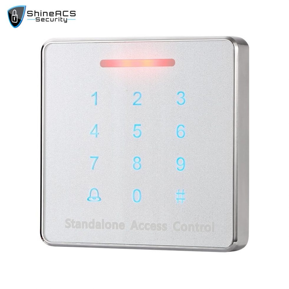 Metal Touch Access Control Standalone device SS K86TK 3 980x980 - Touch Access Control Standalone Device SS-K86TK