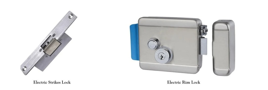 electric rim lock and electric strike lock - Why electric rimlock and electric strikelockare not suggested to use on access system?