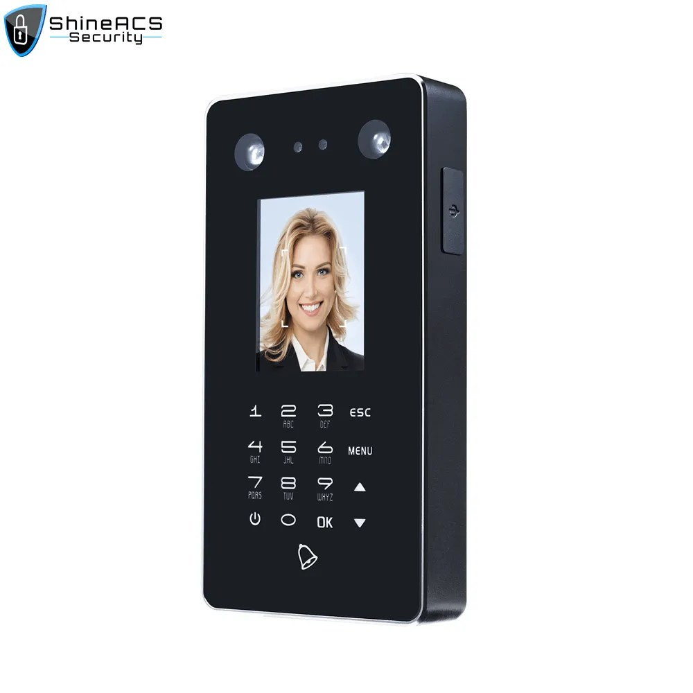 Face recognition attendance access control device ST F301 1 - ShineACS Access Control Products
