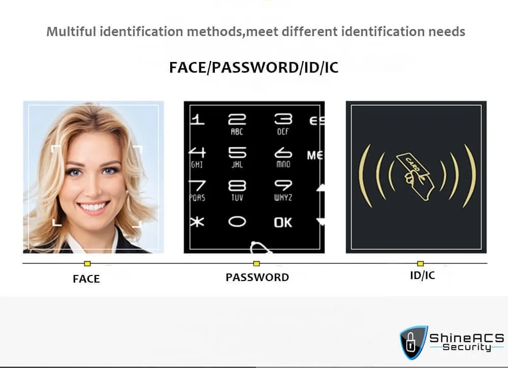 Face time attendance device ST F301multiful identification methods - Face Time Attendance Standalone Terminal ST-F301