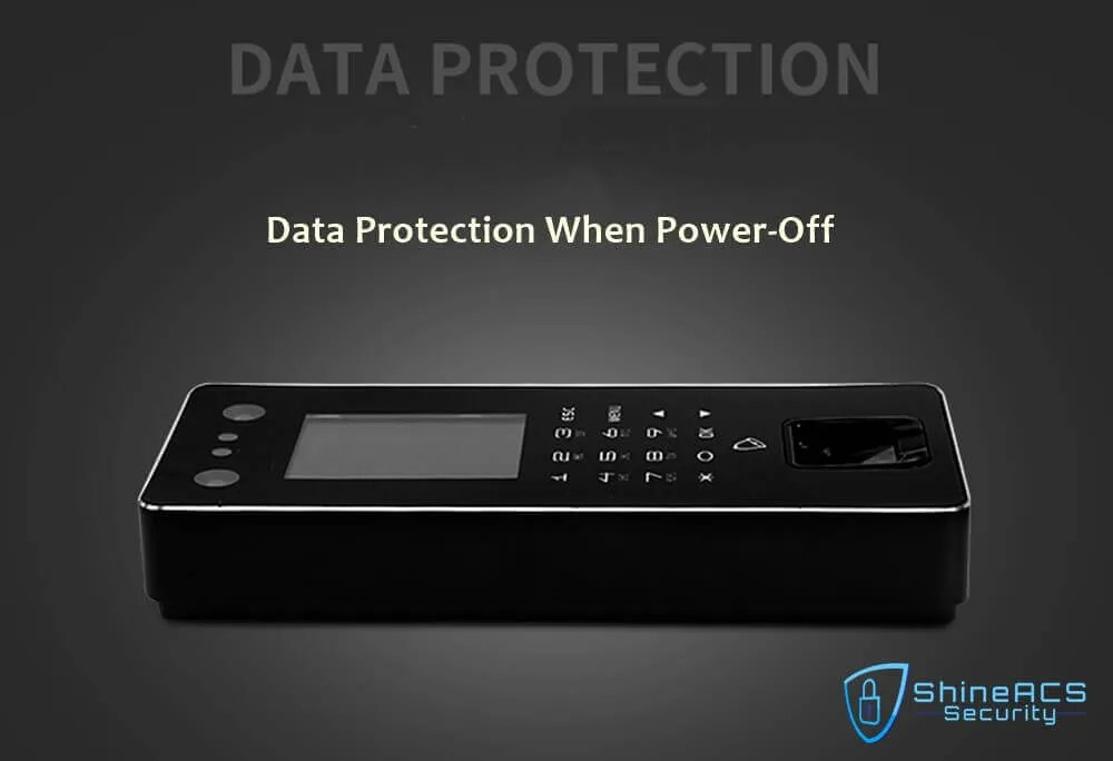 Time Attendance device ST F501 DATA PROTECTION - Time Attendance and Access Control System Biometric Machine ST-F501
