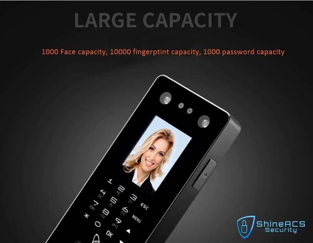 Time Attendance device ST F501 LARGE CAPACITY - Face and Fingerprint Time Attendance Standalone Terminal ST-F501