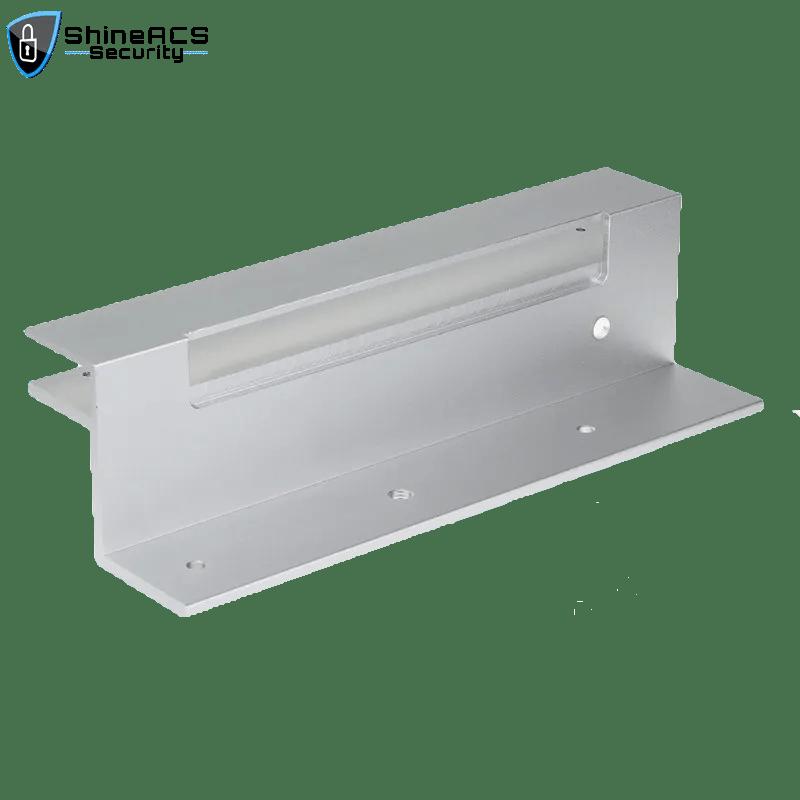 KJL101UL 2 - Manyetik kilitli Cam kapı için Manyetik Kilit Parantez